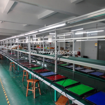 Led Light Production Assembly Line Belt Conveyor Equipment